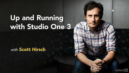 Lynda - Up and Running with Studio One 3 (updated Oct 13, 2016)