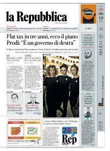 la Repubblica - 8 Giugno 2018