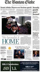 The Boston Globe  February 08 2017