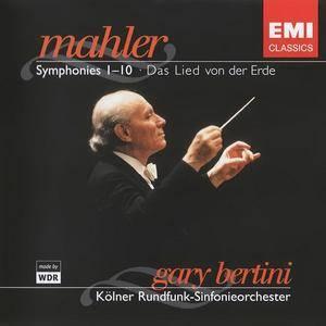Gustav Mahler - Symphonies 1-10, Das Lied von der Erde (Box-set) (Gary Bertini) (2005) {EMI}