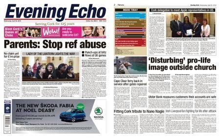 Evening Echo – April 25, 2018