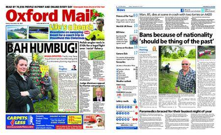Oxford Mail – December 22, 2017