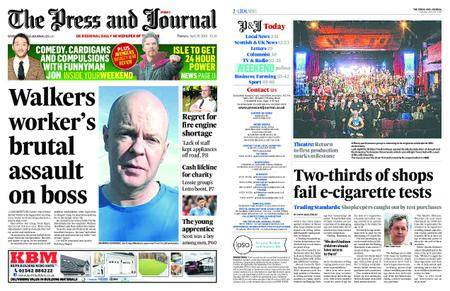 The Press and Journal Moray – April 26, 2018