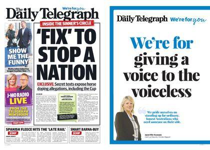 The Daily Telegraph (Sydney) – February 21, 2018