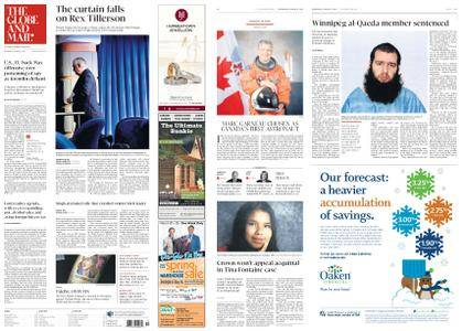 The Globe and Mail – March 14, 2018