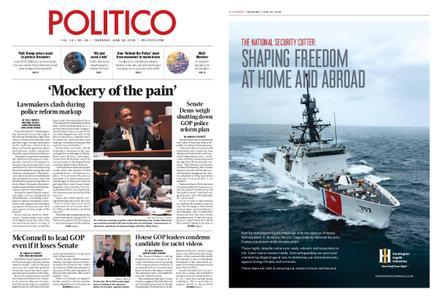 Politico – June 18, 2020