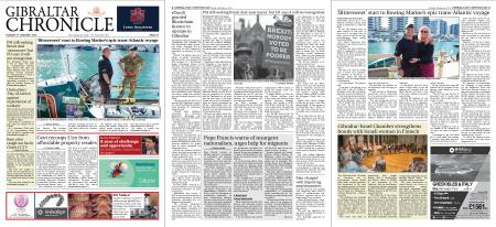 Gibraltar Chronicle – 08 January 2019