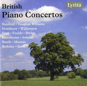 VA - British Piano Concertos (2014) 4CD Box Set
