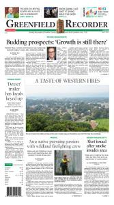 Greenfield Recorder - 27 July 2021
