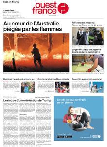 Ouest-France Édition France – 13 janvier 2020