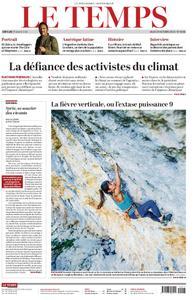 Le Temps - 24 octobre 2019
