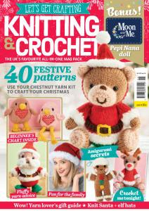 Let's Get Crafting Knitting & Crochet - Issue 126 - November 2020