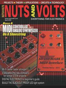 Nuts and Volts - April 2016