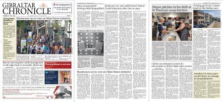 Gibraltar Chronicle – 29 July 2021