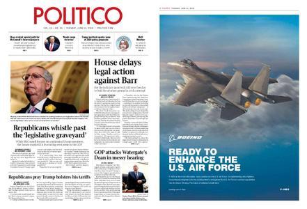 Politico – June 11, 2019