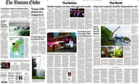 The Boston Globe – September 19, 2017