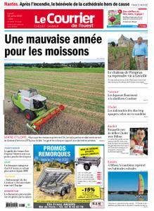 Le Courrier de l'Ouest Cholet – 20 juillet 2020