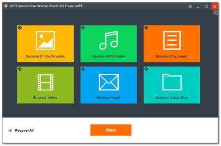 IUWEshare Any Data Recovery Wizard 7.9.9.9 Unlimited / AdvancedPE