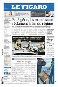 Le Figaro du Samedi 16 et Dimanche 17 Mars 2019