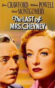 The Last of Mrs. Cheyney (1937)