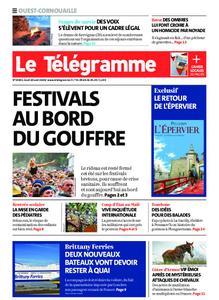 Le Télégramme Ouest Cornouaille – 20 août 2020