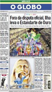 Jornal O Globo - 09 de março de 2011