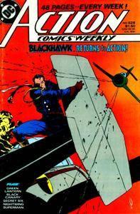 Blackhawk 1989-01 Action Weekly 628-633