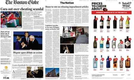 The Boston Globe – January 15, 2020