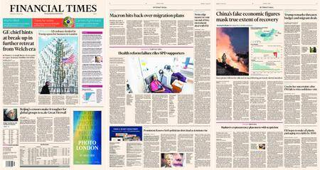 Financial Times Europe – 17 January 2018
