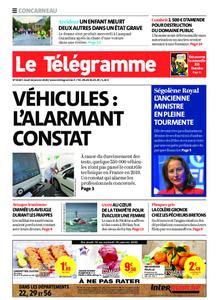Le Télégramme Concarneau – 16 janvier 2020