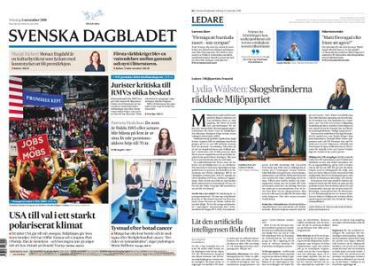 Svenska Dagbladet – 05 november 2018