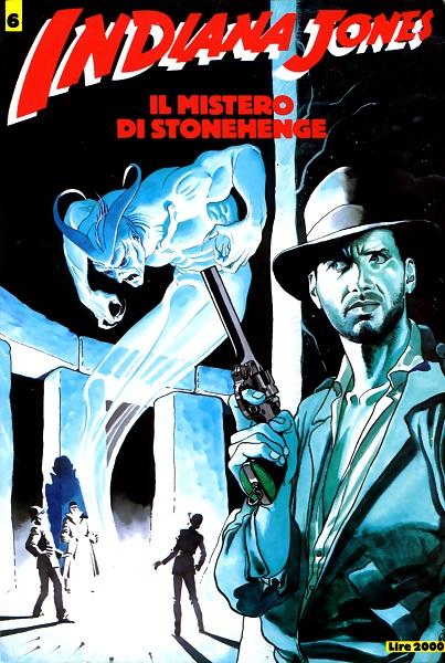 Indiana Jones - Volume 6 - Il Mistero di Stonehenge