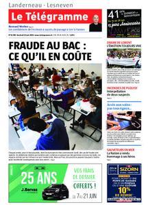 Le Télégramme Landerneau - Lesneven – 14 juin 2019
