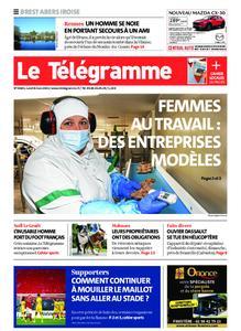 Le Télégramme Brest Abers Iroise – 08 mars 2021