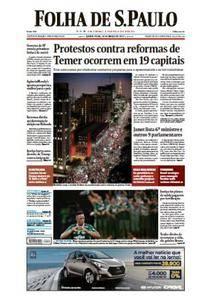 Folha de São Paulo - 16 Março 2017 - Quinta