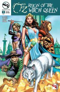 Grimm Fairy Tales Presents Oz Reign Of The Witch Queen 0012015 2 covers Digi-Hybrid