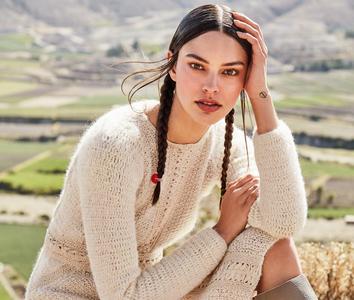 Elizabeth Salt by Enrique Vega for Harper's Bazaar Mexico August 2019