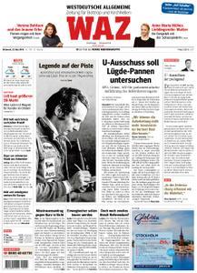 WAZ Westdeutsche Allgemeine Zeitung Bottrop - 22. Mai 2019