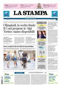 La Stampa Torino Provincia e Canavese - 1 Agosto 2018