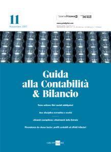 Il Sole 24 Ore Guida alla Contabilità e Bilancio - 14 Novembre 2017