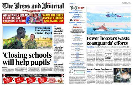 The Press and Journal Moray – December 11, 2017