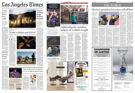 Los Angeles Times – August 31, 2019