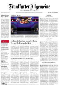 Frankfurter Allgemeine Zeitung - 1 Oktober 2020