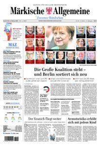 Märkische Allgemeine Zossener Rundschau - 08. Februar 2018