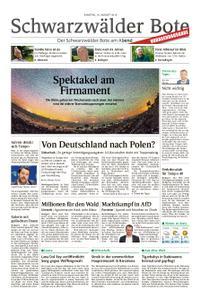 Schwarzwälder Bote Hechingen - 10. August 2019