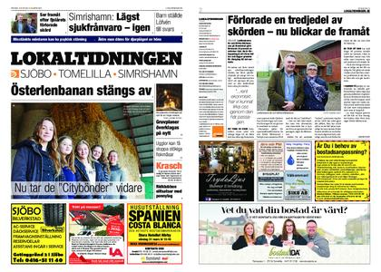 Lokaltidningen Sjöbo – 23 mars 2019