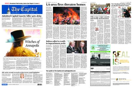 The Capital – October 31, 2019