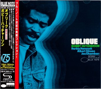 Bobby Hutcherson - Oblique (1967) {2014 Japan SHM-CD Blue Note 24-192 Remaster UCCQ-5016}