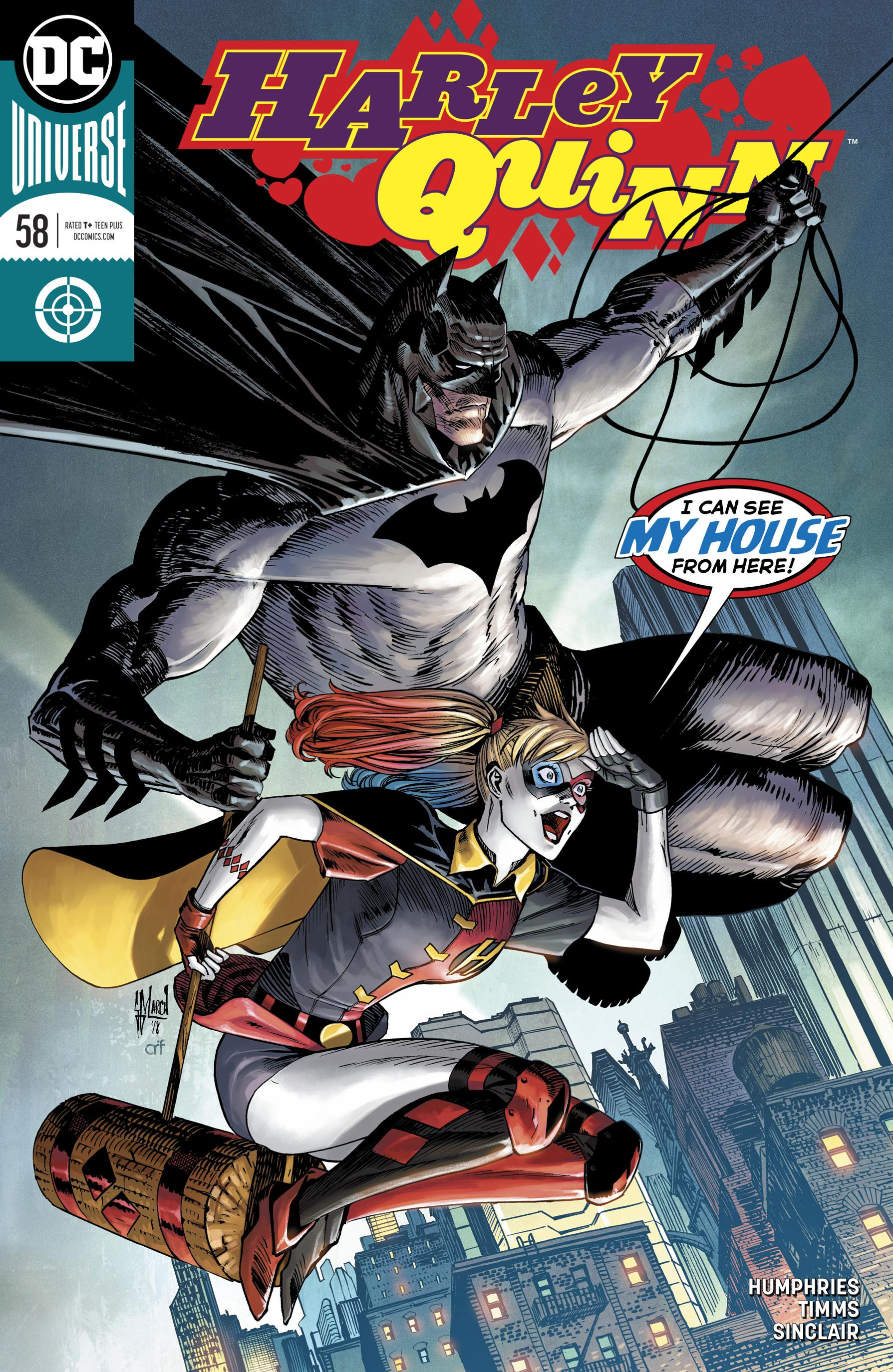Harley Quinn 058 2019 2 covers Digital Zone