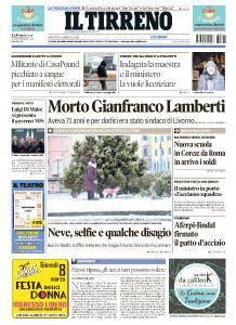Il Tirreno Livorno - 2 Marzo 2018